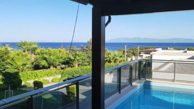 Photo for Luxury Dublex Villa with pool, Amazing View Gated