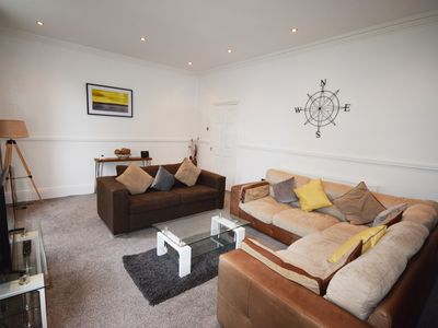 Photo for Lytham Lodge - 5 Bed apartment in Lytham centre with parking