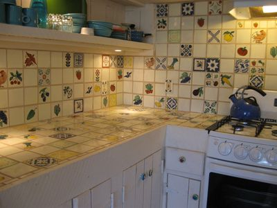 Kitchen, hand made Mexican Tile