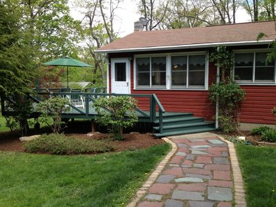 Photo for The Red Cottage on Copake Lake - A Stylishly Updated Home