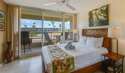 Photo for Easy Maui Living! 1 Bed/2Bath with WiFi, AC, Open Kitchen+Laundry