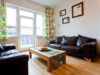 Photo for Sazka Terrace apartment in Libeň with WiFi, private terrace & lift.