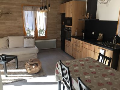 Photo for Winter cocoon in Serre Chevalier, 2min from the slopes, 50m from the shuttle