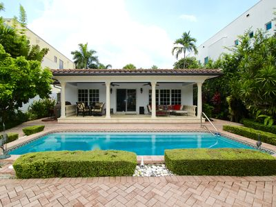 Photo for Cozy Waterfront 3 Bedroom Luxury Vacation Pool Home off Las Olas Boulevard