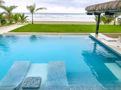 Photo for Amazing, Luxurious & Smart Beach Front vacation Home in Olón-Ecuador