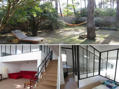 Photo for Attached house, 2 bedrooms, 5 people, Wifi, modern and  bright, lacanau Océan