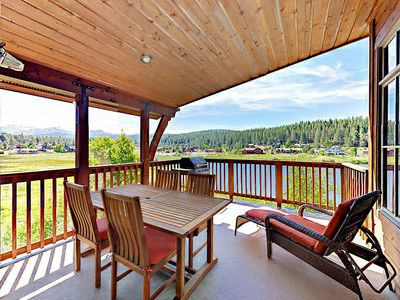 Deck - Welcome to Truckee! This home is professionally managed by TurnKey Vacation Rentals.