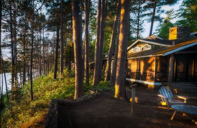 Photo for Stay In Mrs. Coolidge's Cabin At Historic White Pine Camp