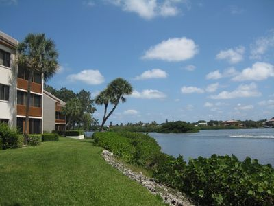 Looking North On The Intracoastal Waterway In Front Of Our Unit