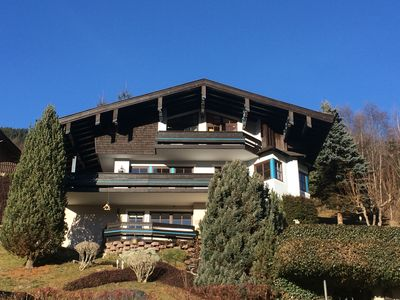 Photo for Luxury house with undisturbed view on the Alps