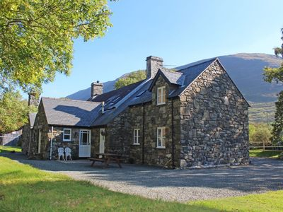 Photo for Traditional stone cottage on the banks of a river offers cosy accommodation for 2 with beautiful Sno