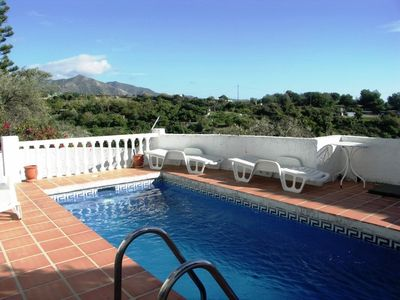 Photo for Ref. 1150 Villas with 3 bedrooms, private pool, Wifi, Burriana Beach area