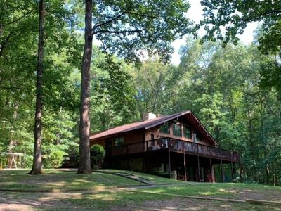 Photo for Lakefront home w/secluded cove, deep water dock, plenty of space