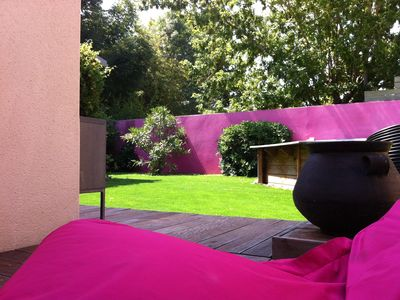 Photo for Toulouse The Argoulets atypical quiet house with garden and pool