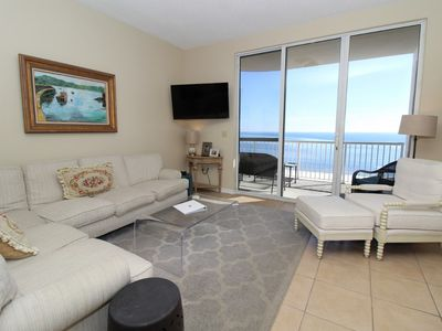 Photo for Spanish Key 603- Beach Front Views from Terrace with Luxurious Interior!