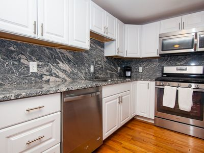 Photo for Boston private 3 bedroom close to train, 10 minutes to downtown sightseeing