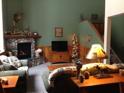 Photo for In The Heart Of Lake Placid!! Walk Into Town Or Drive 11 Mins To Whiteface