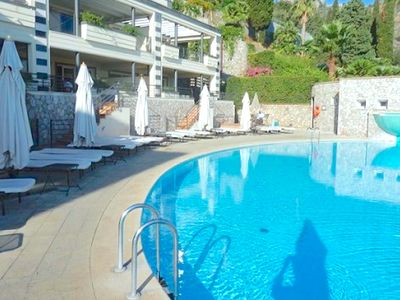 Photo for SEA VIEW APARTMENT FLAT POOL TERRACE TAORMINA