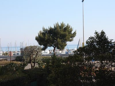 Photo for 50 m from the sea, large bright 2 P with terrace, near airport
