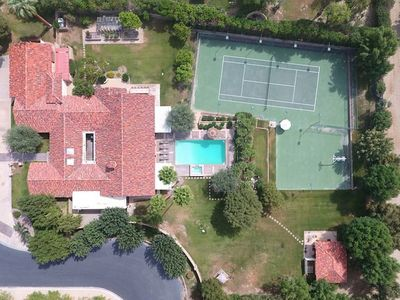 Photo for Your own private resort. A spectacular and private estate on over 1.5 acres.
