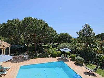 Photo for SEA VIEW VILLA in Vale do Lobo, 1min walk to the beach and Maria's restaurant