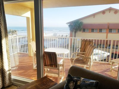 Photo for 2 Br Oceanfront Resort Partial View * Heated Pool! 6 *NSB