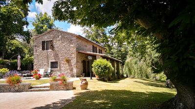 Tuscan stone farmhouse with private pool - Arcidosso