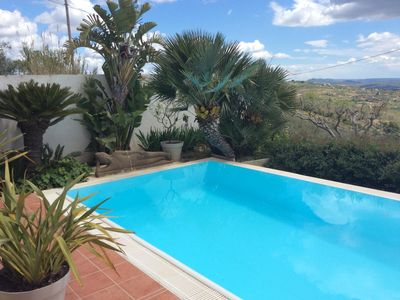 Photo for Villa Dali .......... Modern house, panoramic view, pool 16mX3