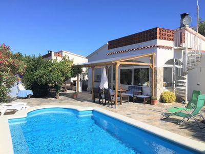 Photo for CASA SEGRIA - cozy cottage with private pool in quiet residential area