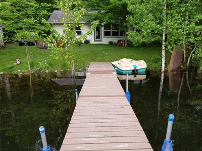 Photo for Lake House Located in a Peaceful Quiet Bay on Long Lake