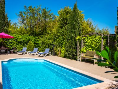 Photo for La Fleurie - 3 bedroom Gite with private pool near Canal du Midi in Languedoc