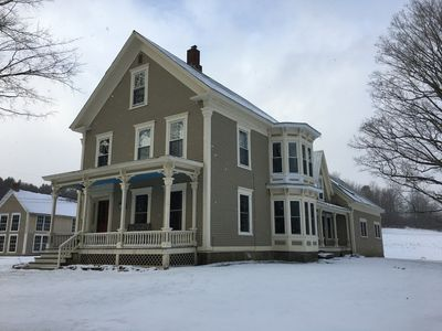 Photo for 2BR Farmhouse Vacation Rental in Ludlow, Vermont