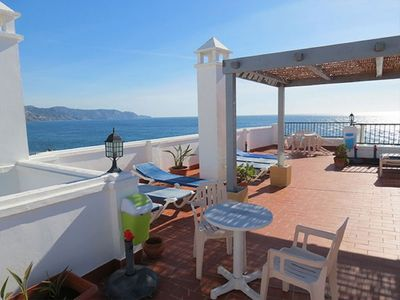 Photo for Apartment with sea views, 1 bedroom A / C