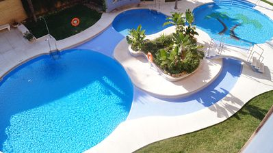 Photo for Fuengirola, Malaga. Apartment for 2-4 people on the beach front line