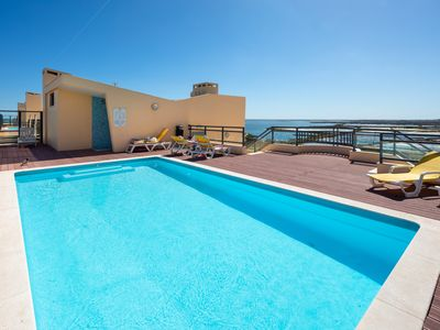 Photo for SUNVISTA - Refurbished Apartment with Sea View and Rooftop Pool
