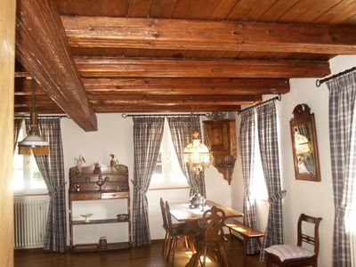 Photo for Apartment (100 sqm) for 4 people in an Alsatian farm.