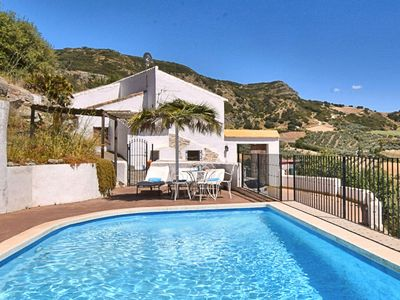 Photo for Authentic country home with private swimming pool near the Torcal de Antequera nature park