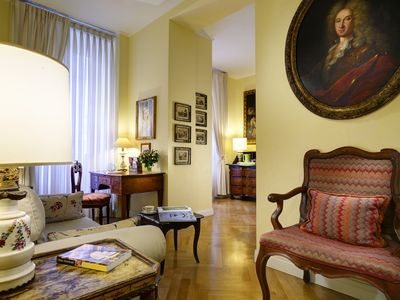 Photo for Close to Navona Square, Exclusive cozy Suite AC, WiFi | Perfect base for touring