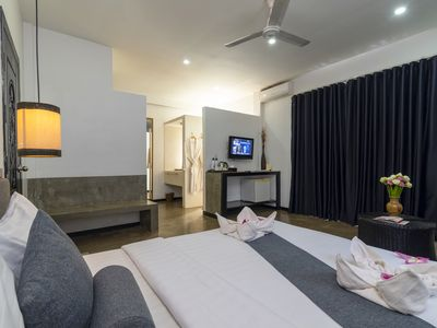 Photo for Deluxe Double room with private balcony - Free breakfast