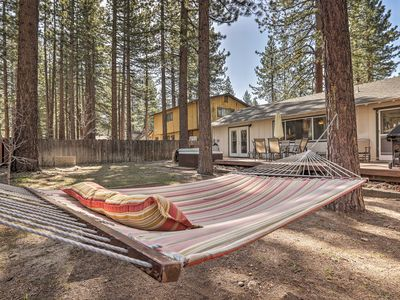 Photo for S. Lake Tahoe Home w/Games+Hot Tub 5 Mins to Lifts