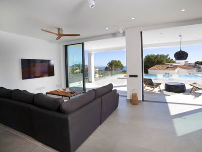 Photo for Vacation home Saona in Moraira - 8 persons, 4 bedrooms