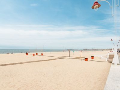 Photo for Air-Conditioned Apartment On the Beach with Large Terrace & Wi-Fi