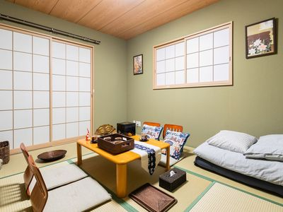 Photo for 3 minutes to the station, 8 minutes to the subway Namba, 16 minutes to Umeda, 3LDK 2-story Japanese-style guest room Private house up to 8 people YUYU HOUSE-KOHAMA ODA