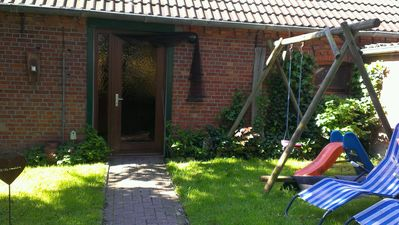 Photo for Separate vacation apartment on a farm near the North Sea