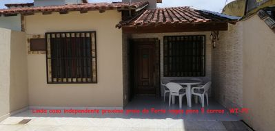 Photo for Beautiful independent house, WiFi, spaces for 3 cars, next to paraia do Forte.