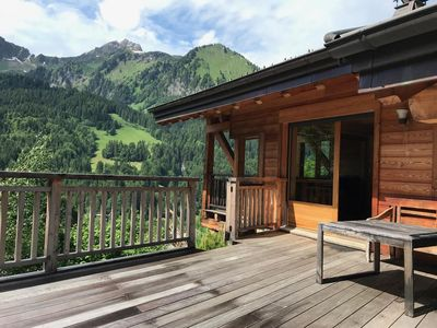 Photo for Come spend your holidays in this exceptional chalet for 8/10 people. Located between Châtel and La C