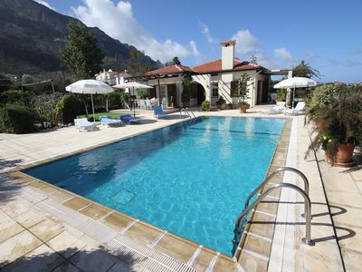 Photo for Villa With Private Pool And Sea And Mountain Views. Some School Hols available
