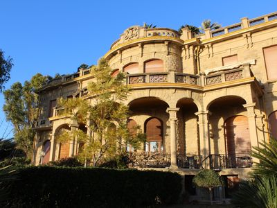 Photo for One bedroom apartment in a castle surrounded by a garden with garage.