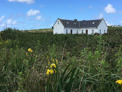 Photo for Escape to the West Coast of Ireland - cozy, comfortable cottage in Mayo!