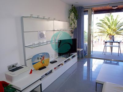 Photo for High apartment standing,beach-front, 2 bedroom, 2 bathroom wifi24H.Fiber optic